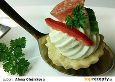 Salty cupcakes with Niva Appetizer Recipes, Appetizers, Christmas Cookies, Ham, Mashed Potatoes, Catering, Chicken Recipes, Pizza, Food And Drink