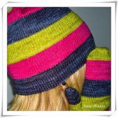 Viluinen Villasukka: Loki-neuletakki Loki, Knitted Hats, Beanie, Knitting, Fashion, Moda, Tricot, Fashion Styles, Breien