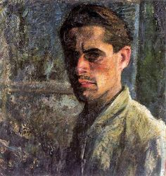 Sironi, Mario (1885-1961) - 1910-11 Self-Portrait (Private Collection) by RasMarley, via Flickr