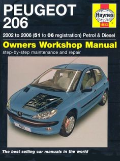 peugeot 206 petrol and diesel service and repair manual https rh pinterest com Peugeot 407 Interior Peugeot 407 Interior