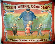 Little Hokum Rag: Vintage Side Show Banners