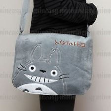 My Neighbor Totoro Anime Messenger Shoulder Slung Bag Case Pouch Plush Toy Doll