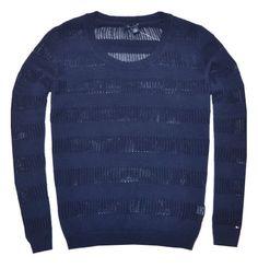 Tommy Hilfiger Women Fashion Crew Neck Open Knit Logo Sweater (XXL, Navy) Tommy Hilfiger http://www.amazon.com/dp/B00GIRU072/ref=cm_sw_r_pi_dp_W8fEub05FP2K1