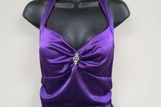 Vintage Formal Party Dress Purple Blondie Nites Linda Bernell Full Length by KansasKardsStudio on Etsy