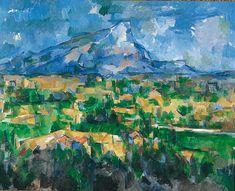Paul Cézanne, la Montagne Sainte-Victoire vue des Lauves