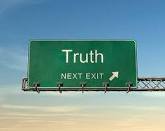 Taking the Truth Exit will always be a smoother ride