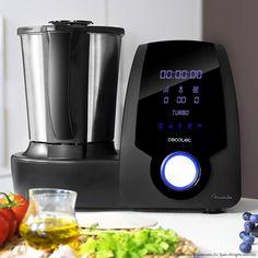ll Robot de cocina Mambo Cecotec Black Kitchen Appliance Storage, Kitchen Appliances, Kitchen Robot, Health Diet, Keurig, Drip Coffee Maker, No Cook Meals, Food Processor Recipes, Modern