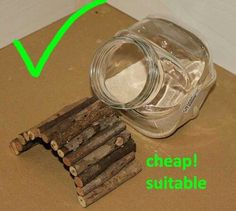 Great DIY dust bath hack for chinchillas and other small pets.