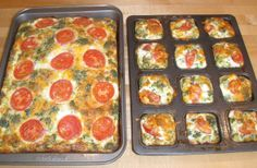 Quiche Muffins | Skinny Mom | Tips for Moms | Fitness | Food | Fashion | Family
