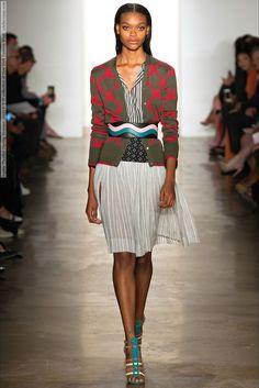 Sophie Theallet (Spring-Summer 2015) R-T-W collection at New York Fashion Week  #AgneKonciute #CharlotteNolting #DorotaKullova #ElenaBartels #EleonoraBaumann #JamilyWernkeMeurer #KelyFerr #LineBrems #LulaKenfe #MargaritaPugovka #NataliEydelman #NewYork #OlaMunik #SophieTheallet #SymoneChallenger #WaleskaGorczevski #ZoeColivas