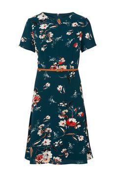Sugarhill Boutique Ohara Belted Floral Dress
