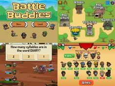 Math and reading games. Form a team of 3 battle buddies and take on mighty bosses or defend your base from invaders. Earn gems to boost stats and skills or unlock even more powerful buddies. You'll have to use all kinds of strategies to beat foes such as Snorg, Iggy, and Gargoon. Math Answers, Math Questions, Battle Games, Reading Games, Educational Games For Kids, Strategy Games, A Team, Boss, This Or That Questions