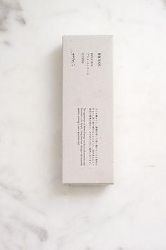Midori, Japanese, box, branding, packaging, minimal, typography, black, white
