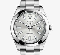 Rolex oyster, the original & first water resistant watch. 1926- this is todays version.