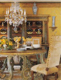 Ann Norton House in West Palm Beach. Designers showcase Dining by William R. Eubanks & Mitch Brown. Veranda