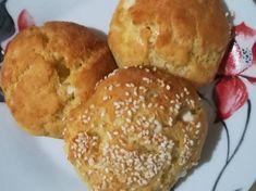 Πανεύκολα τυροπιτάκια Hamburger, Bread, Food, Eten, Hamburgers, Bakeries, Meals, Breads, Loose Meat Sandwiches