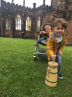 One of our young friends helping us churn butter at Birkenhead Priory What Is Life About, People Like, You And I, Baby Strollers, The Past, Bring It On, Butter, Friends, Children