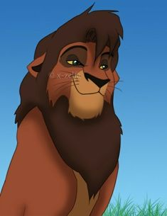 Kovu from Lion King Simba's Pride Lion King Series, Lion King 3, The Lion King 1994, Lion King Fan Art, Disney Lion King, Hakuna Matata, Lion King Quotes, Kiara And Kovu, Lion King Pictures