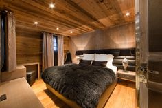 bedroom -luxury chalet -chambre à coucher -ikone -ikhome -ikone -ikhome