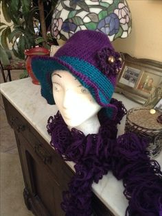 hat for Andrea by Linda Perran