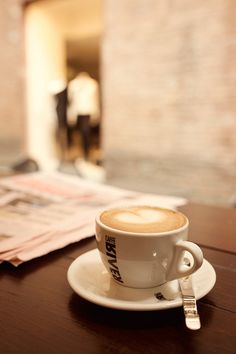 Coffee in Tuscany