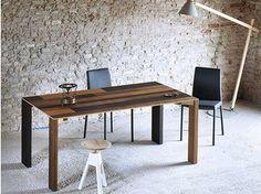 Extension de table rectangulaire en bois NAIF    Tableau - Miniforms