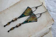 Sunflower Tin earring