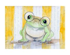 I have this print hanging in one of my guest bedrooms....so adorable!!