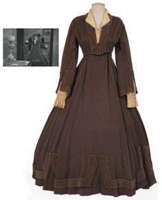 Little women Katharine Hepburn Image Fashion, Star Fashion, Floral High Low Dress, We Wear, How To Wear, Katharine Hepburn, Movie Costumes, Mary Poppins, Fashion Gallery