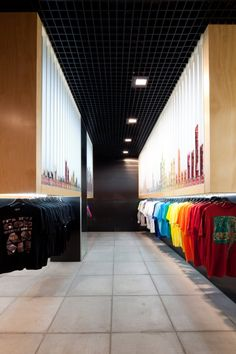 color story and retail display  Streetology - Architizer