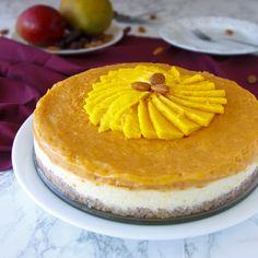 Fitness+mangový+cheesecake Kefir, Trifle, Chia Seeds, Cheesecake, Nutella, Tiramisu, Food And Drink, Healthy Recipes, Ethnic Recipes