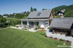 Single Family House in Styria, Austria Cabin, Mansions, House Styles, Vintage, Home Decor, Clay Tiles, Detached House, Grey, Decoration Home