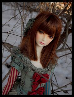 nonsansdroict:    Sasha by Takoyakiz wonderland on Flickr.  Via Flickr: Sasha est une tête Supia Rosy sur un corps Aria doll modifié par Lywann/Lyly pie maquillée par Mingyi et Lywann Son ensemble est unique et réalisé par Val Zeitler *-*-*-*-*-*-*-*-*-* Sasha is a Supia Rosy head on an Aria doll body modified by Lywann/Lyly pie painted by Mingyi and Lywann Her OOAK outfit is by Val Zeitler