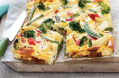 Tasty hot or cold, this frittata is also easily transportable, so it's perfect for popping into lunch boxes. See notes section for FODMAP diet tip.