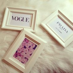 like the frames but I'd personally put something a little less tumblr in it, haha.