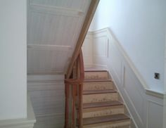 Wall Panelling along the stairs - 8 Advantages for Wall Panelling in your home