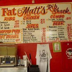 Fat Matts Rib Shack - Downtown Atlanta Barbeque BBQ and Blues Joint