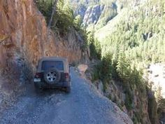 The Colorado Alpine Loop is a premier off-road destination and the Golden Block Brewery in Silverton is right in the heart of it! Alpine Loop, Colorado Country, Jeep Trails, Mountain Pass, Sea To Shining Sea, Dirt Biking, Colorado Mountains, Toyota 4runner, Usa Travel