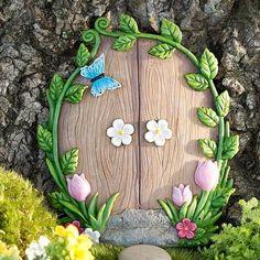 Fairy Garden Ivy Door