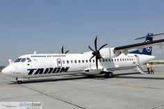 YR-ATH TAROM - ATR 72-500 Flight Reservation, Atr 72, Airline Travel, Romania, Aviation, Travel Photography, Aircraft, Europe, Air Ride