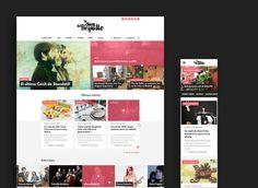 Responsive web site for lachicadelflquillo.com
