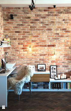 Gabinet styl Industrialny - zdjęcie od STUDIOLOKO - Gabinet - Styl Industrialny - STUDIOLOKO