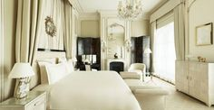 Explore our curated collection of top Paris hotels including the iconic Ritz Paris which boasts a Coco Chanel suite and rejuvenating skin treatments by Chanel. Home, Ritz Hotel, Bedroom Design, Suites, Furniture, Luxury Suite, Hotel, Interior Design, Hotels Room