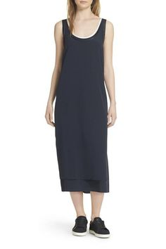 Midi Dress with Snea