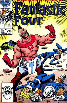 Cover for Fantastic Four January 1987 #298