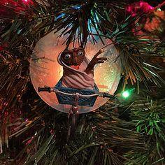 E.T. ornament #christmastree #film