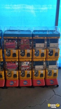 New Listing: https://www.usedvending.com/i/Tomy-Gacha-Capsule-Toy-Vending-Machines-for-Sale-in-California-/CA-A-134U Tomy Gacha Capsule Toy Vending Machines for Sale in California!