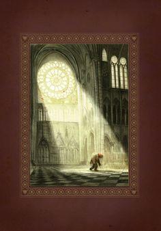 Notre Dame De Paris by Benjamin Lacombe