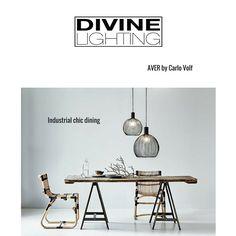 Divine Lighting (@NordluxUK) | Twitter Industrial Chic, Dining, Lighting, Twitter, Home Decor, Homemade Home Decor, Meal, Lights, Lightning