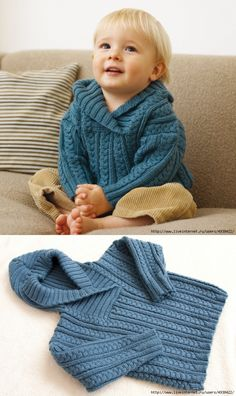 Diy Crafts - Diy Crafts - Kinder,Stricken- admin 2019 Kinderkleidung Leave a Views Baby Boy Knitting Patterns, Baby Sweater Knitting Pattern, Knitting For Kids, Baby Patterns, Baby Boy Sweater, Knit Baby Sweaters, Boys Sweaters, Baby Cardigan, Gilet Crochet